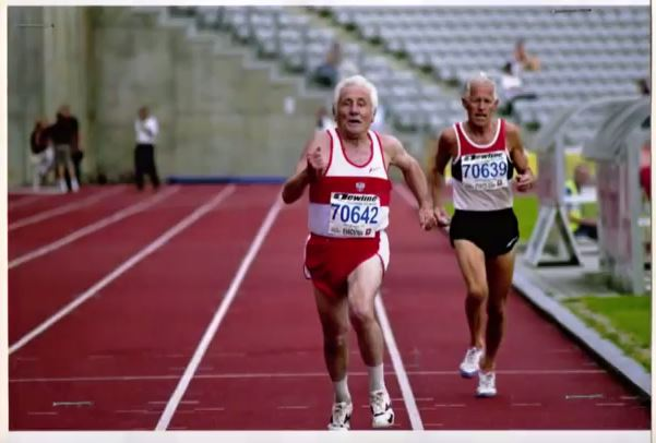 Zbigniew Petri_finisz biegu na 800 m